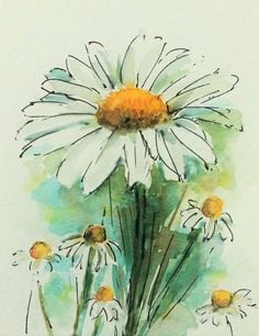 Buy Daisy, Watercolour by Jill Hsieh on Artfinder. Discover thousands of other original paintings, prints, sculptures and photography from independent artists.