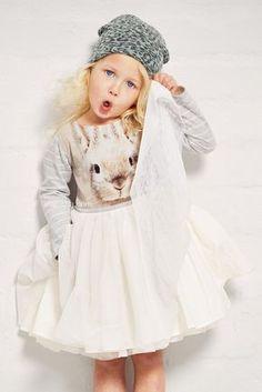 ALALOSHA: VOGUE ENFANTS: Be a little princess so easy! Go all out this festive…