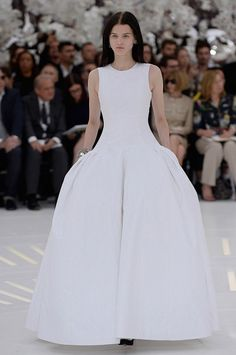 Dior Fall 2014 Couture: The Best From The Show And The Front Row via @WhoWhatWear
