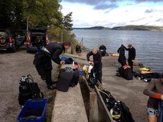 Dykdagis med Fantasea Diving på Breviks brygga.