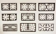 Lost Found Art - Antique Cast Iron Stove Grates