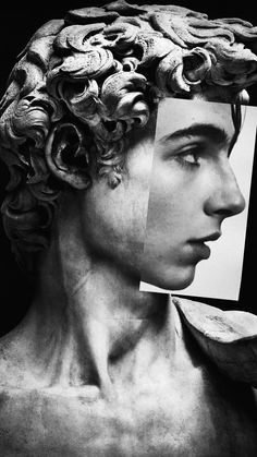 He is beautiful as any statue. He is beautiful as any statue. Beautiful Boys, Pretty Boys, Beautiful People, Timmy T, Photocollage, Aesthetic Art, Aesthetic Statue, Aesthetic Grunge, Call Me