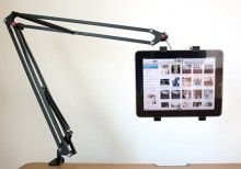 iTarm Articulating iPab & Tablet Arm with clamp