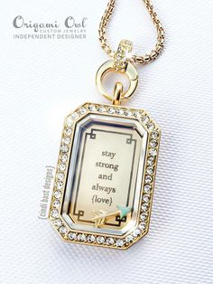 Inscriptions by Origami Owl What will yours say?