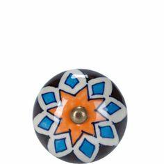 OPEN Möbelknopf rund Ornamente - Möbelgriffe
