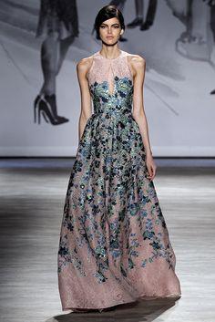 Lela Rose Spring 2015 Ready-to-Wear Fashion Show - Kamila Hansen