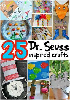 25 Dr. Seuss Inspired Crafts for Preschoolers