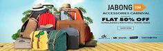 Jabong  Accessories Carnival  Flat 50% Off  On Sunglasses,Watches,Travel Bags Goosedeals is leading destination for cashback coupons and best deals. Goosedeals offering some of the  best deals and best products at very affordable prices, also our website is providing discounts with lowest prices. Grab best deals and cashback coupons More Details visit: http://goosedeals.com/home/details/jabong/39188.html