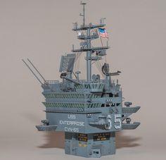- uss Enterprise Part 12 Uss Enterprise, Aircraft Carrier, Model Ships, Battleship, Scale Models, Diorama, Statue Of Liberty, Hobbies, Military