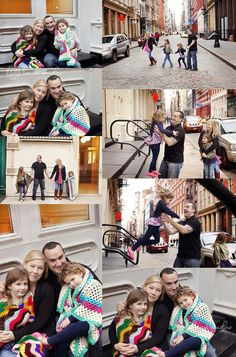 Urban Soho NYC Family Session :: Modern New York City Photographer