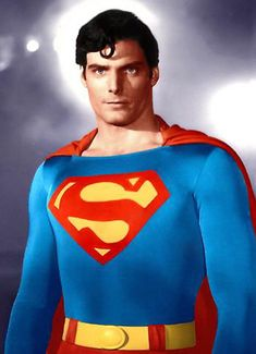 THE Superman, Mr. Christopher Reeve.
