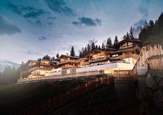EIN URTIROLERISCHES HOTELDORF IM ZILLERTAL Früher war er Bankdirektor, jetzt leitet er ein Hotel. Stephan Haas eröffnete mit seiner Familie das Kaltenbach in Tirol.