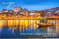 10-day all gay adventure including Madrid Gay Pride! Cruise the lush Douro River Valley with unlimited free-flowing beverages onboard. #brandgvacations #gaycruises