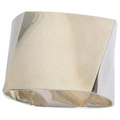 Tiffany & Co. Frank Gehry Sterling Silver Torque Bangle Bracelet 1
