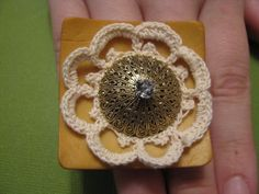 Gold and Lace by NepentheDesign on Etsy, $10.00
