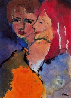 Emil Nolde - Two Ladies