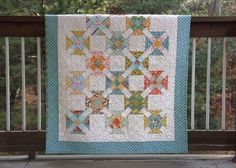 Double Wrench Baby Quilt - a | by twinfibers