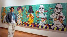 Honys Torres Artista Neo POP: El Imperio Contraataca Barquisimeto Sala 7 del Mus...