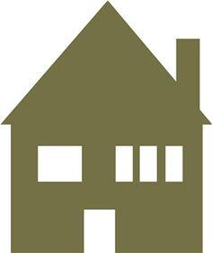 Silhouette Design Store - View Design #14414: modest house