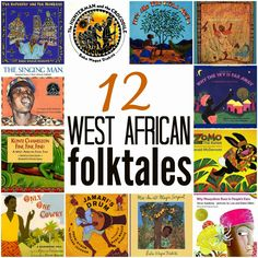 West African folktales, perfect multicultural books for kids. History Books For Kids, Black History Books, Tarot, Historia Universal, Preschool Books, Mentor Texts, Thinking Day, Children's Literature, Book Lists
