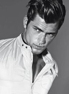 Sean O'Pry, for Hugo Boss