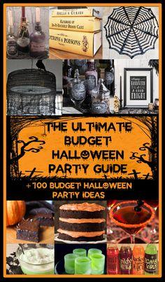 100 Budget Halloween Party Ideas