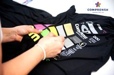 Strong bright colours , with professional quality standards at Com-Prensa
