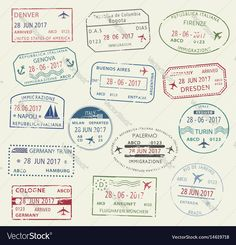 Ideas For Travel Tattoo Ideas Maps Passport Stamps Adventure Holiday, Adventure Travel, Adventure Time, Drawing Topics, Travel Symbols, Travel Baby Showers, Passport Stamps, Iceland Travel, Document