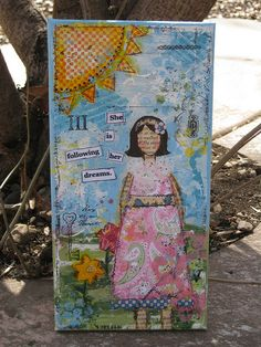 She Art Girl #2 by PackerDi, via Flickr
