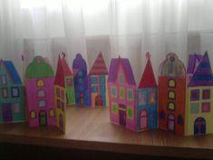 Szines házikósor-colored house model - mivagyunk.lapunk.hu