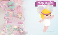 Fanart et fonds d'écrans pour ordinateur Polly Pocket | Poulette Magique