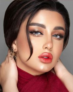Bride Makeup, Glam Makeup, Beauty Makeup, Hair Beauty, Beautiful Lips, Beautiful Girl Image, Beautiful Long Hair, Beauty Full Girl, Beauty Women