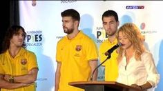 shakira y la educacion - YouTube