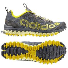 adidas Vigor 3 Shoes//for trail runs Pumped Up Kicks, Grey Yellow, Running Women, Shoe Boots, Shoes, Adidas Women, Cleats, Pumps, Stylish