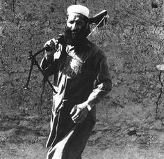 A bearded rebel carried an RPD LMG in Afghanistan during the 1980s. (Collection of David Isby), pin by Paolo Marzioli