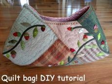Quilt Bag tutorial. ~ DIY Tutorial Ideas!