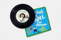 Vinyl-Single-Garderobe Music Instruments, Cloakroom Basin, Musical Instruments