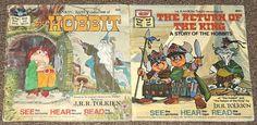 Rankin Bass books The Hobbit, The Return of the King J. R. R. Tolkien