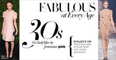 Fab at Every Age: Go ladylike in feminine pink in your 30s at #ShopBAZAAR