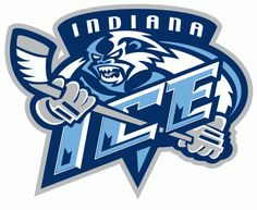 Indiana Ice Primary Logo (2005) -