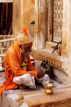 Wise man in Jaiselmer