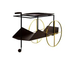 JZ Tea Trolley by Espasso by Jorge Zalszupin for Espasso