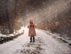 little girl. The Very Last Leaf Of Autumn by Jake Olson Studios on 500px