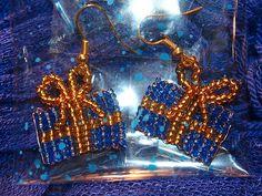 #beads #earrings #christmas #present