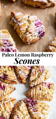 Paleo Sweets, Paleo Dessert, Gluten Free Desserts, Dairy Free Recipes, Paleo Recipes, Raspberry Recipes Paleo, Shrimp Recipes, Paleo Baking, Gluten Free Baking