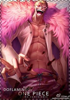 Doflamingo by ZhangDing on DeviantArt