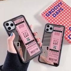 """❤️Microfiber lining to prevent scratches ❤️Perfectly fits your phone to provide protection and a great look drop protection to guard your phone against accidents because """"Life Happens"""" Tough Bumper iPhone Case is your iPhone's best budd Korean Phone Cases, Korean Phones, Kpop Phone Cases, Kawaii Phone Case, Girly Phone Cases, Pretty Iphone Cases, Diy Phone Case, Iphone Phone Cases, Phone Covers"""