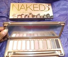 NEW SHADES! Review, Swatches: Urban Decay Naked3 Palette #bstat