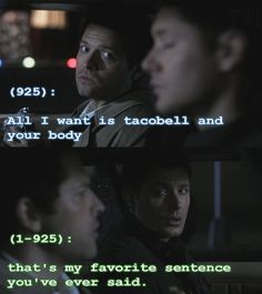 Texts From The Impala so much destiel