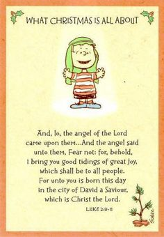 I said this scripture when I was in the church play as a kid!